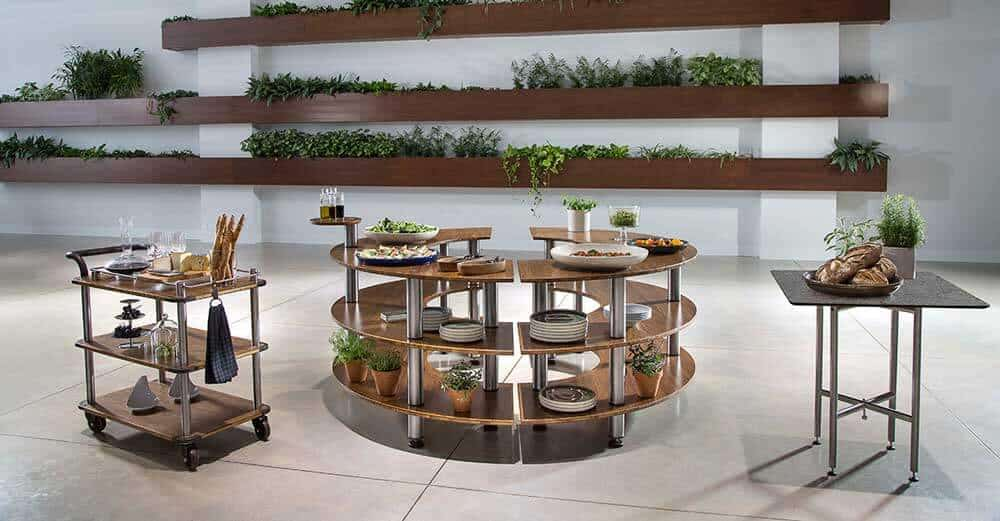 Display and Catering Tables